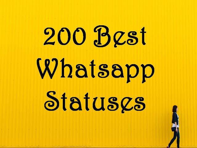 Best 200 Funny WhatsApp Status.