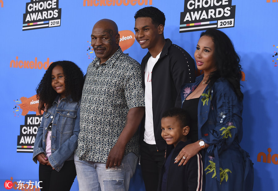 Mike Tyson Family