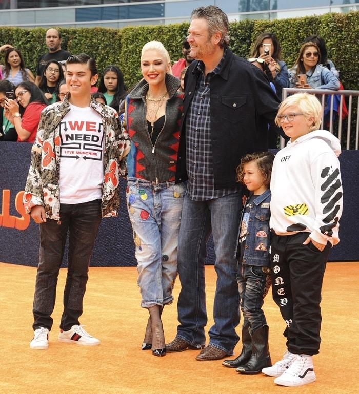 Gwen Stefani Family