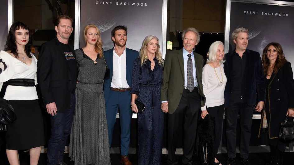 Clint Eastwood Family