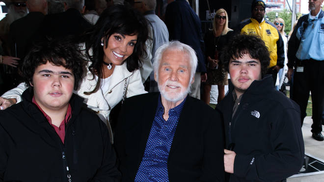 Kenny Rogers Family